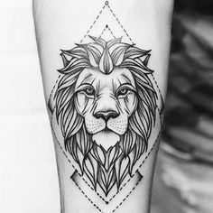 1000 ideas about Geometric Tattoo Animal on Pinterest | Geometric cat ...