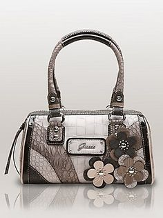 Guess bag with flowers 5cc2a323cc699