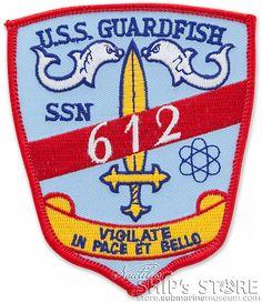 Patch - 612 Gaurdfish $11.95