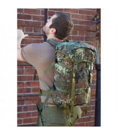 German Army Flecktarn pattern large-size carrier to roll! When covert missions call for a reliable carrier, reach for this tactical Assault/Invasion Bag.