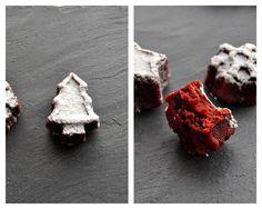 Red Velved Cake Petit fours