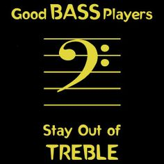 Real bass players do this...
