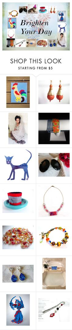 """""""Brighten Your Day: Unique Handmade Gifts"""" by paulinemcewen on Polyvore featuring rustic"""