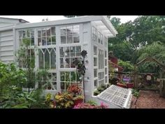 Building a Repurposed Windows Greenhouse – Our Fairfield Home & Garden