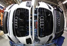 Car Maker Audi based in Ingolstadt, Germany