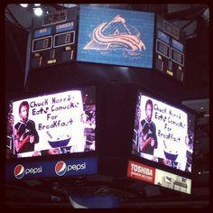 Even Chuck Norris likes Colorado Hockey!