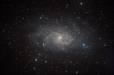 Galassia M 33 Foto scattata con strumenti amatoriali. Italy