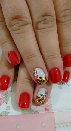 New nails acrilico rojas ideas Dot Nail Art, Polka Dot Nails, Blue Nails, French Nail Designs, Nail Designs Spring, Winter Nails, Spring Nails, Lavender Nails, Leopard Print Nails