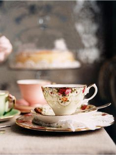 Good old fashioned tea cups