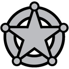 police badge coloring page sbo pinterest badges color sheets