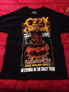 Ozzy Osbourne Black Tee ($5 special @Wally)
