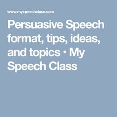 strategies and techniques in writing a persuasive speech Persuasive speech analysis the purpose  overall understanding/interest in the speech persuasive techniques  and other custom writing services inclusive of.