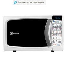 Micro-ondas Electrolux MTD30 20 Litros Branco << R$ 29699 >>