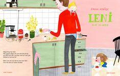 Niños y padres suecos, con ilustraciones geniales de Emma Adbage