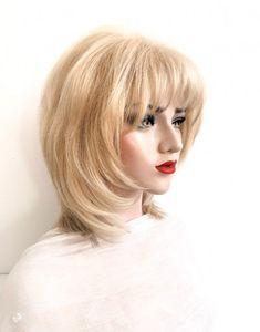 Model ANTOANETA #105-Peruca par natural mediu blond cenusiu | Peruci.ro | Peruci.ro Wig Hairstyles, Haircuts, Human Hair Wigs, Disney Princess, Hair Cuts, Haircut Styles, Hair Style, Disney Princesses, Disney Princes