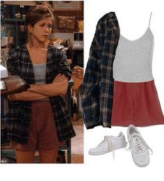 Tv Show Outfits, 30 Outfits, Friend Outfits, Mode Outfits, Retro Outfits, Cute Casual Outfits, Vintage Outfits, Fashion Outfits, Style Fashion