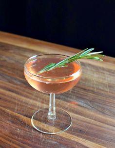 {friday cocktail: garden rosé}
