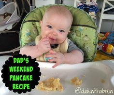 Dude With A Brew - Pancake Time! (Dad's Weekend Pancake Recipe)