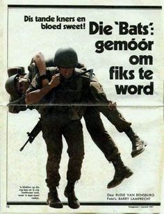 Airborne Ranger, Parachute Regiment, Defence Force, Paratrooper, We Are Young, Africans, Vietnam War, Military History, Bats