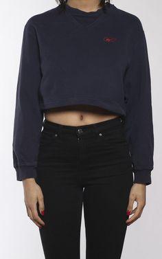 Vintage Reebok Crop Sweatshirt