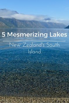 Amazing photos of some of the stunning lakes on New Zealand's South Island