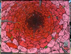 Liqen, Red Hole, Spain - unurth | street art