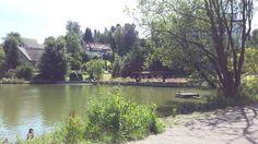 #Bad_Gandersheim - Heute waren wir am Osterbergsee. Wirklich idyllisch.