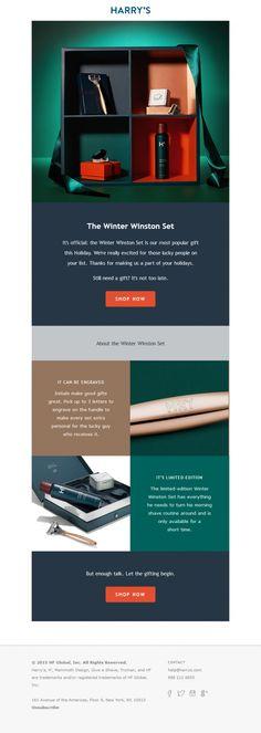Harry's - Email marketing templates - E-goi