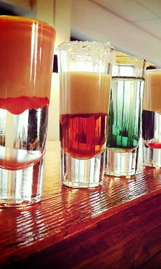 Layered Shots - You do it once, you do it twice.