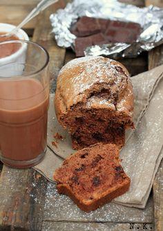La Cuisine du Corti: Cake à la crème de marrons et aux pépites de chocolat {Concours Inside}