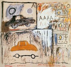 ART ET AUTOMOBILE, UN SIÈCLE D'INSPIRATION✋ARTIST ✋JEAN MICHELLE BASQUIAT Pins Like This At FOSTERGINGER @ Pinterest✋