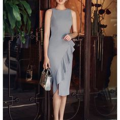 Image gallery – Page 332914597455161050 – Artofit Cute Dresses, Casual Dresses, Short Dresses, Fashion Dresses, Dresses For Work, Formal Dresses, Simple Gowns, Classy Work Outfits, Fancy Tops
