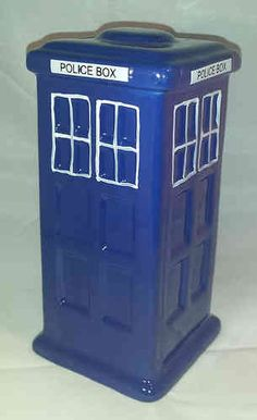 Police Phone Box Money Box (Doctor Who) Police Box, Money Box, Tardis, Wooden Frames, Doctor Who, Picture Frames, Boxes, Phone, Fun