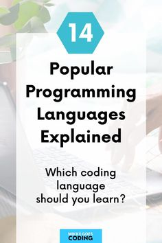 What are the most popular programming languages to learn? If you're new to coding, check out these 14 powerful languages to start learning. Find out what each of them is used for in web development and find the right language to learn to start a career or become a freelancer and make money coding. #mikkegoes List Of Programming Languages, Coding Languages, How To Make Money, How To Become, Best Online Courses, Learn To Code, Computer Science, Web Development, Popular