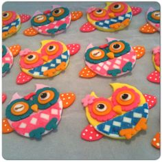 You're A Hoot cupcake toppers by HauteTart on Etsy, $24.00