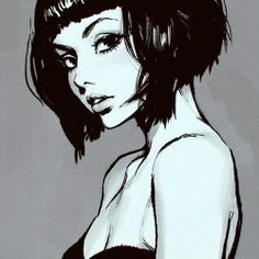 beauty art Black and White vintage indie b&w Grunge draw retro Sketch pin up Alternative pop art Pin Up Passion