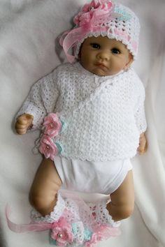 Cheryls Crochet - newborn layette - pattern for $10