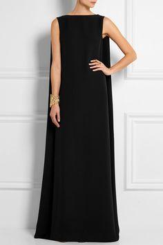 Valentino Silk-Cady Gown