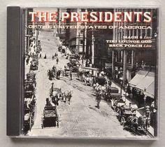 Presidents of the USA '96 Best Buy Bonus 3trk CD *Mint* w/Live Mach 5 +Porch +Tiki