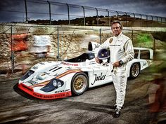 Jacky Ickx and the 1981 Le Mans winning 936/81