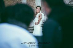 #weddingdress #collection2015weddingdress #alessandroangelozzicouture #biancabalti #campaign2015backstage