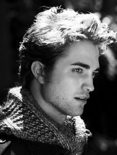 Rob Pattinson not so much into him but this is a great pic