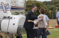 Imágenes inéditas: La alegría de la princesa Leonor y la infanta Sofía al recibir a su padre tras un viaje de trabajo - Foto 1