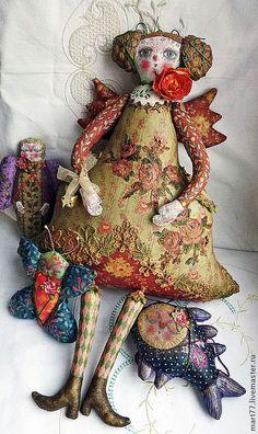 """Купить Фея """"Динь-Динь"""" - ангел, фея, кукла ручной работы, кукла, игрушка"""