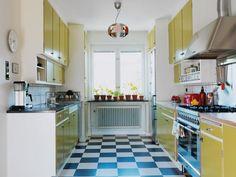 Supermodernt 50-talskök – Hus & Hem