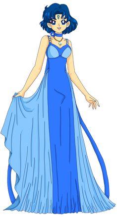 Princess of Mercury by Sailor-Serenity.deviantart.com on @deviantART