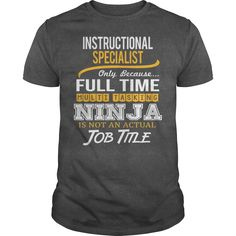 Awesome Tee For Instructional Specialist T-Shirts, Hoodies. Get It Now ==>…