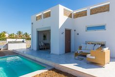 www.thalasses.com Thalasses Villas , Villa Thoi in Pigianos Kampos, Rethymno, Crete, Greece #vacation_rental #thalasses_villas #4_luxurious_villas #villa_Thoi #luxurious_accommodation #summer_holidays #privacy #summer_in_crete #Visit_Greece #outdoors #facade #swimmingpool #outdoors_area