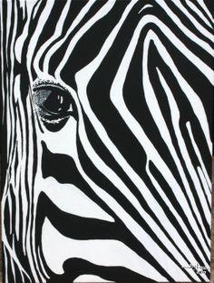 "Saatchi Art Artist: Poggetti Christian; Acrylic 2010 Painting ""box zebra"""