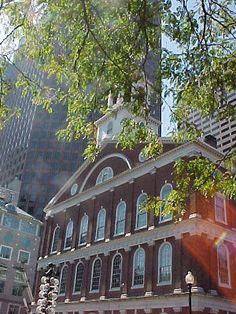 Faneuil Hall Boston Freedom Trail